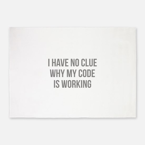 I Have No Clue Why My Code Is Working 5'x7'Area Ru