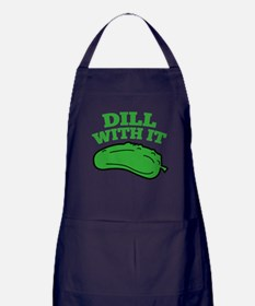 Dill With It Apron (dark)