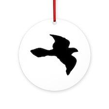 Flying Bird Icon Ornament (Round)