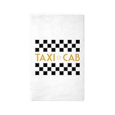 Taxi Cab Area Rug