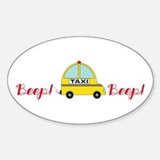 Honking Taxi Decal