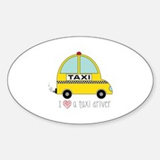 Taxi Driver Decal
