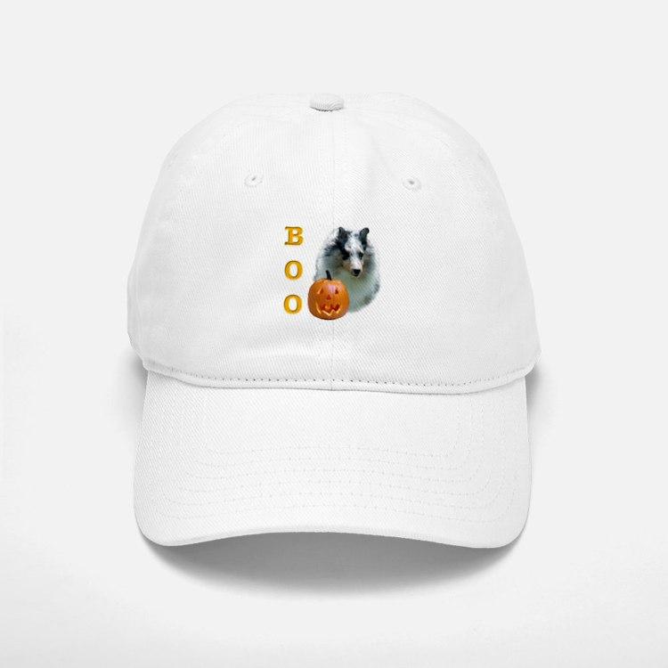 Sheltie(mrl) Boo Baseball Baseball Cap