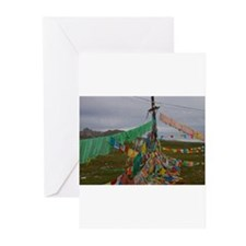 Unique Tibetan flag Greeting Cards (Pk of 20)