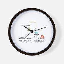 Good Chemistry Wall Clock