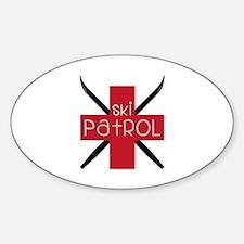 Ski Patrol Decal