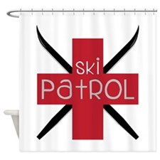 Ski Patrol Shower Curtain