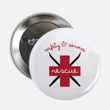 """Safety & Service 2.25"""" Button (10 pack)"""
