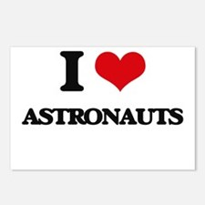 I Love Astronauts Postcards (Package of 8)