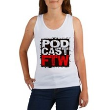 podcast for the win Tank Top