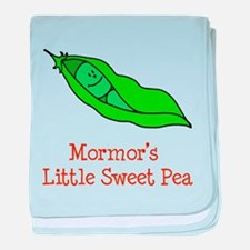 Mormor's Sweet Pea baby blanket
