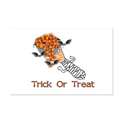 Trick Or Treat Zombie Posters