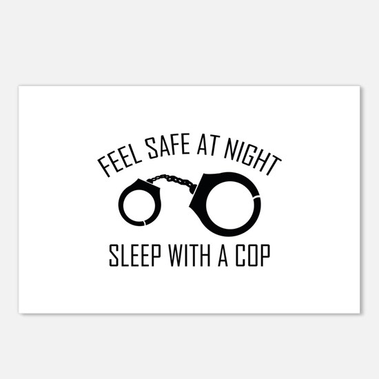 Feel Safe At Night Postcards (Package of 8)