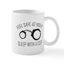 Feel Safe At Night Small Mugs