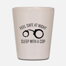 Feel Safe At Night Shot Glass
