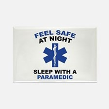 Feel Safe At Night Rectangle Magnet (10 pack)