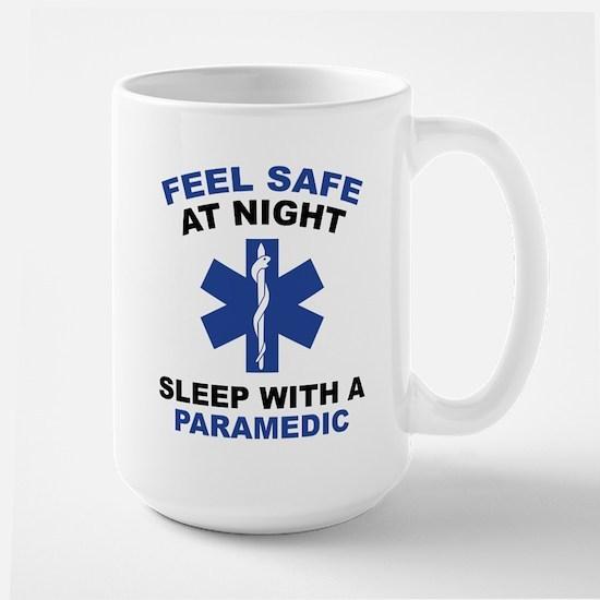 Feel Safe At Night Large Mug