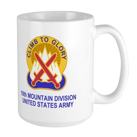 10th Mountain Division<br>Large Coffee Mug
