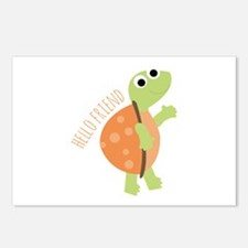 Hello Friend Postcards (Package of 8)