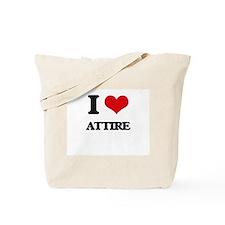 I Love Attire Tote Bag