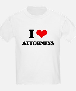 I Love Attorneys T-Shirt