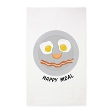 Happy Meal Area Rug
