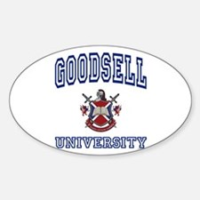 GOODSELL University Oval Decal