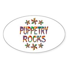 Puppetry Rocks Decal