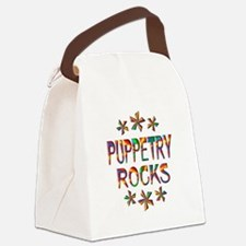 Puppetry Rocks Canvas Lunch Bag