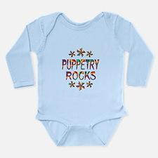 Puppetry Rocks Long Sleeve Infant Bodysuit