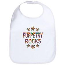 Puppetry Rocks Bib