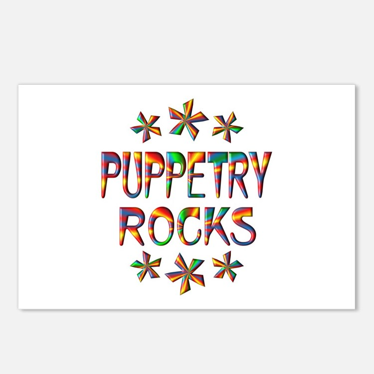 Puppetry Rocks Postcards (Package of 8)