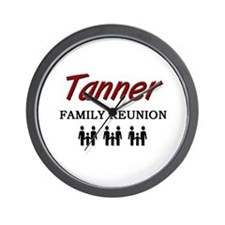 Tanner Family Reunion Wall Clock