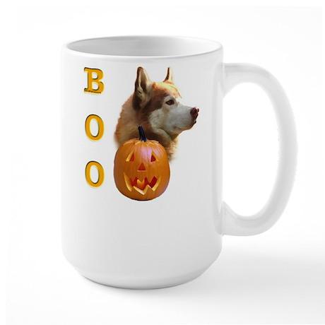 Husky(red) Boo Large Mug