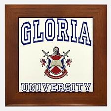 GLORIA University Framed Tile