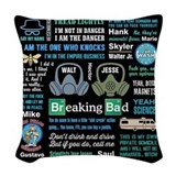 Breaking bad Throw Pillows