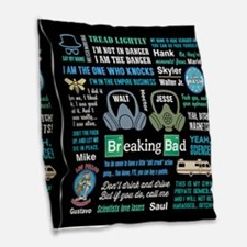 Breaking Bad Quotes Burlap Throw Pillow