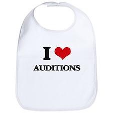 I Love Auditions Bib