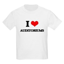 I Love Auditoriums T-Shirt