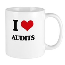 I Love Audits Mugs