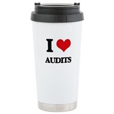 I Love Audits Travel Mug