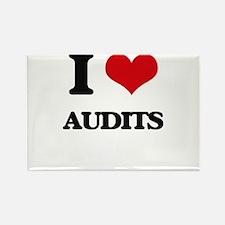 I Love Audits Magnets
