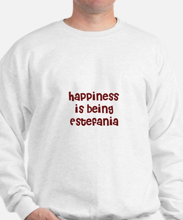 happiness is being Estefania Sweater