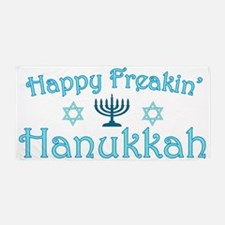 hanukkah.png Beach Towel