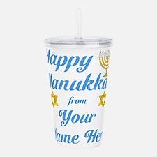 hanukkah Acrylic Double-wall Tumbler