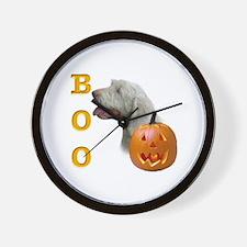 Spinone Boo Wall Clock
