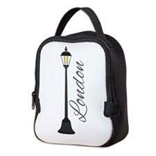 London Neoprene Lunch Bag