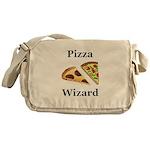 Pizza Wizard Messenger Bag