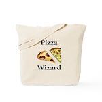 Pizza Wizard Tote Bag