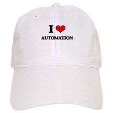 I Love Automation Baseball Cap